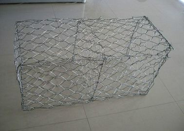 China Galvanisierte Gabion Kasten-Stützmauer Gabion Korb mit 2.7mm 3.05mm Draht anti- Crossion 2m * 1m * 1m usine